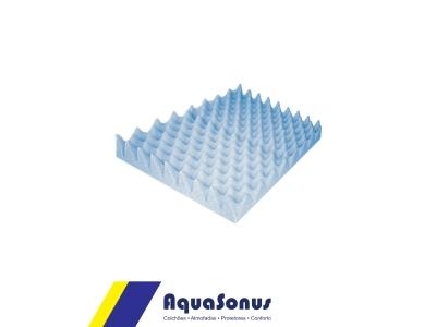Almofada espuma quadrado caixa de ovo s/orifício