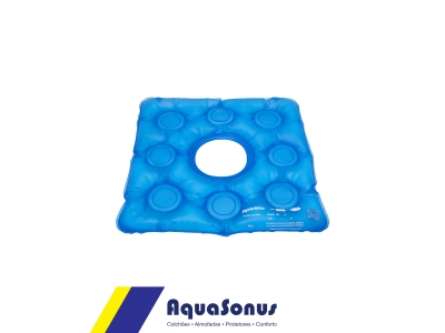 Almofada d´agua caixa de ovo  quadrada com orifício