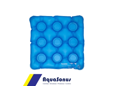 Almofada caixa de ovo inflável quadrada sem orifício