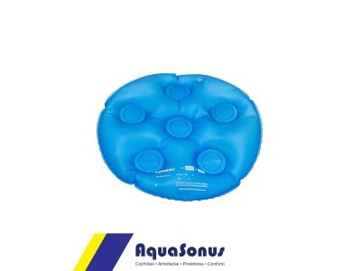 Almofada caixa de ovo inflável redonda sem orifício