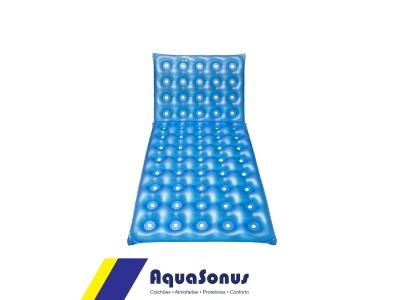 Colchón hospitalario inflable 1,90 x 0,90  articulado tipo cartón de huevos - abierto