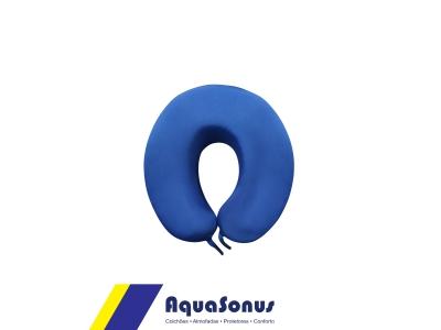 Apoio cervical comfort espuma azul
